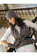 Комплект (шапка+шарф+перчатки) Kamea Gloria
