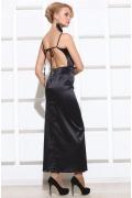 """Черное платье с открытой спиной Apple Dress """"Raphaela"""""""