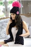 Комплект шапка + шарф Kamea Krappa