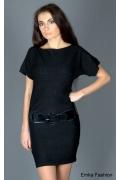 Маленькое чёрное трикотажное платье | 8019