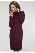 Платье бордового цвета Enny 16003