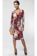 Трикотажное платье Enny 16019
