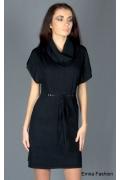 Элегантное платье с пояском Yiky Fashion | YK001