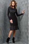 Платье с длинным рукавом TopDesign B3 061
