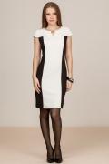 Черно-белое платье Remix 1825
