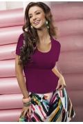 Фиолетовая блузка Enny 15023