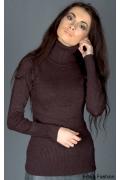Женский свитер с высоким воротником | 8014