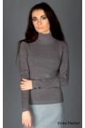 Женский свитер серого цвета | 8037