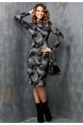 Обтягивающее трикотажное платье TopDesign B3 027