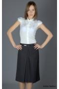 Универсальная темно-серая юбка | 147-nexus