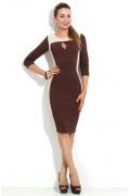 Платье из плотного трикотажа Donna Saggia DSP-114-70t