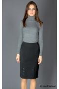 Классическая юбка с декором | 166-helen
