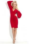 Платье с объемным рукавом Donna Saggia DSP-36-29t
