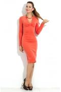 Платье персикового цвета Donna Saggia DSP-105-31t