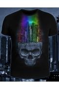 Клубная мужская футболка Dark City