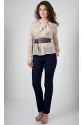 Полупрозрачная блузка Golub Б894-1493