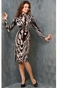Изящное платье TopDesign B3 120