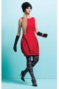 Красное платье без рукавов Zaps Syntia