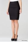 Черная юбка-карандаш Emka Fashion 404-rona