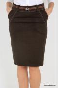 Теплая осенне-зимняя юбка Emka Fashion 336-erin