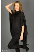 Платье-туника черного цвета | 111208