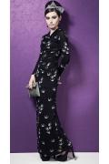 Длинное трикотажное платье TopDesin Premium PB3 31