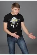 Мужская футболка Yoda (Светится в темноте и у-фиолете)