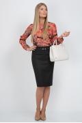 Классическая черная юбка Emka Fashion 313-brianna