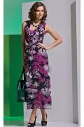 Летнее платье без рукавов TopDesign A4 008