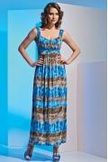 Длинное летнее платье TopDesign 2014 A4 010