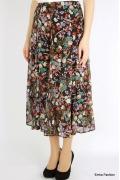 Длинная юбка с цветочным рисунком Emka Fashion 295-sida