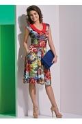 Изящное летнее платье TopDesign A4 035