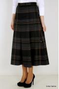 Длинная юбка в клетку Emka Fashion 426-elza