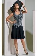 Платье летнее без рукавов TopDesign A4 033