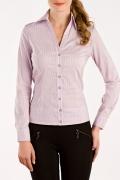 Сиреневая офисная блузка из коллекции 2011 | Б683-995