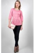 Розовая блузка Golub Б951-2193