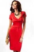 Красное красивое платье Enny 17041