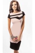 Платье грязно-розового цвета Enny 17048