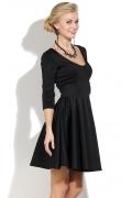 Черное коктейльное платье Donna Saggia DSP-140-4t