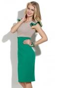 Двухцветное платье Donna Saggia DSP-142-69t