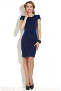 Темно-синее облегающее платье Donna Saggia DSP-42-41t
