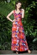 Длинное летнее платье TopDesign PA3 04