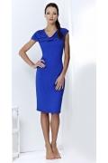 Синее платье TopDesign A3 178