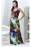 Длинное летнее платье TopDesign A3 080