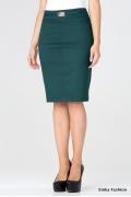 Юбка зеленого цвета Emka Fashion 442-beretta