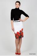 Юбка-карандаш Emka Fashion 202-rozmarin