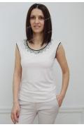 Бежевая блузка Sunwear N01-2