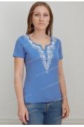 Голубая блузка Sunwear N23-3-61
