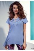 Летняя удлинённая блузка Sunwear N66-2