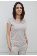 Блузка бежевого цвета Sunwear N49-2